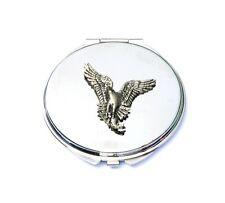 Osprey Sea Hawk Compact Handbag Mirror Ladies Pocket Hunting Gift ENGRAVED FREE