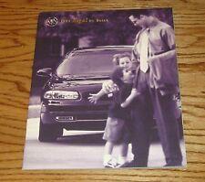 Original 1999 Buick Regal Deluxe Sales Brochure 99