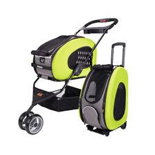 IBIYAYA 5-in-1 Combo EVA Pet Carrier & Stroller Backpack - Apple Green