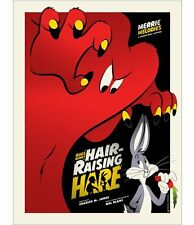 Michael De Pippo - Hair Raising Hare (AP) - Mondo Looney Tunes - Poster/Print