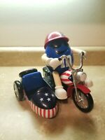 M&M's Red White & Blue Freedom Rider Motorcycle Candy Dispenser Biker NC905