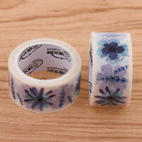 2 Rolls/5m Washi Paper Tape DIY Sticky Decals Adhesive Decor Sticker Various