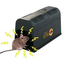 Electronic Mouse Trap Control Rat Killer Pest Electric Zapper Rodent Garden ~