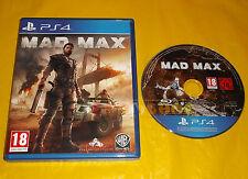 MAD MAX Ps4 Versione Ufficiale Italiana 1ª Edizione ○○○ USATO - CC