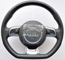 Audi S Line A3 A4 A5 A6 A8 TT Q5 Q7 R8 fond plat Multifonction Volant