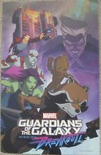 MARVEL GUARDIANS OF THE GALAXY MISSION: BREAKOUT D23 DISNEY EXPO MINI POSTER