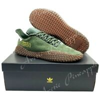 Adidas Originals Men's Sz 13 Kamanda Nubuck Shoes Base Green B96521 NIB