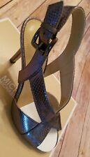 BRAND NEW MICHAEL MICHAEL KORS BECKY METALLIC DRESS SANDALS sz 8M