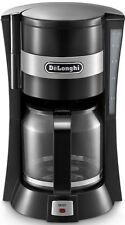 DeLonghi Icm15210 Filter Coffee Machine Black 10 Cups