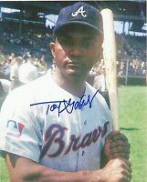 Tony Gonzalez 1969-1970 Atlanta Braves Signed 8x10 Photo at Wrigley Field COA