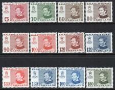 GREENLAND MNH 1973-79 Queen Margrethe