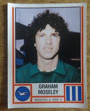 Panini football sticker 1981, Graham Moseley, Brighton & Hove Albion, 55