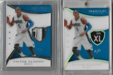 2014-15 VICTOR OLADIPO IMMACULATE ACETATE 1/1 LOGO NUMBER & LOGO PATCH 2/5 LOT!