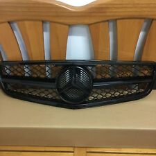Mercedes-Benz C-Class 08-13 W204 AMG Style Grill Grille Black For C200 C300 C350