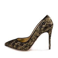 Dolce & Gabbana Glitter Lace Court Shoes, size 40 / UK7 - BNWB, RRP £560