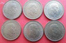 Monedas española 6 X 1966