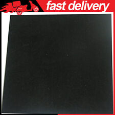 Black Heat Resistant Rubber Pad Thin Silicone Grade Rubber Gasket Sheet 12