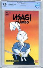 Usagi Yojimbo # 1  CBCS  9.8  NMMT  White pgs 7/87  1st Usagi Yojimbo in his own