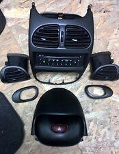 Peugeot 206 RC |180GTI Dash parts -  vents, radio, etc Carbon look