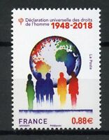 France 2018 MNH Universal Declaration of Human Rights 70th Anniv 1v Set Stamps
