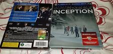 INCEPTION Blu-Ray Esclusivo Edizione Limitata Rara SOLD-OUT STEELBOOK