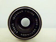 """Rare"" Isco-Gottingen Isconar 1:4 100mm Lens M42 mount+Lens Hood EXCELLENT++"