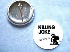 Killing Joke 25mm  Badge Punk Sex Pistols The Clash The Stranglers The Damned