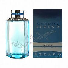Azzaro Chrome Legend For Men Edt Spray 4.2oz 125ml * New in Box Sealed *