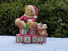 Clarence Santa Spell Christmas Joy NIB Cherished Teddies