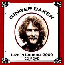 Ginger Baker - Live at the Jazz Cafe 2009   2 cisc CD / DVD