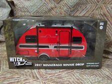 "Greenlight 1:24 scale Collector Red 2017 WINNEBAGO ""Winnie"" Drop Trailer w/hitch"