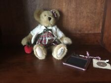 Boyd's Bear Miss Macintosh Teachers Rule Stuffed Bear W Tags & Chalkboard/Abacus