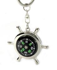 Car Compass Keychain Keyring Pendant Clips Hook for Car Decoration/Phone/Bag