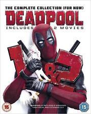 Deadpool Double Pack  [Blu-Ray]  [Region Free] DVD New Sealed