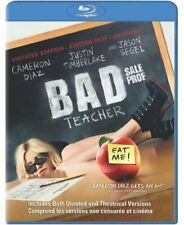 Bad Teacher (Blu-ray Disc, 2011)  Bilingual Free Shipping In Canada