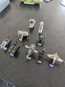 Star Wars Titanium Series Die Cast Job Lot - slave One - Grievous - Ark 170