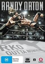 WWE: Randy Orton: Rko Outta Nowhere - The Apex Predator NEW R4 DVD
