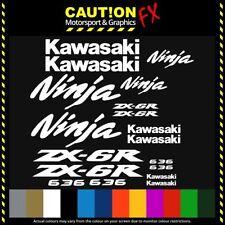 Ninja ZX6R ZX-6R Decal Set Motorcycle Stickers Vinyl Cut