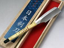 Japanese High quality Straight Razor Yellow paper steel KANENAGA Hand made NEW!
