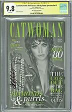 Catwoman 80th Anniversary 100pg Super Spectacular #1 CGC 9.8 SS KRS Sketch Cover
