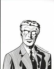 ANTHONY CACIOPPO~JACK KIRBY'S WARDEN FRY PINUP~NEW ART! Comic Art