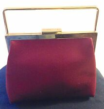 Gucci Elegant Satin Evening Clutch Handbag