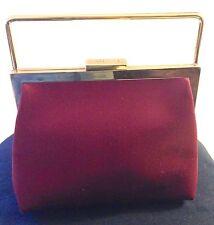 GUCCI Elegant Satin Evening Clutch Handbag