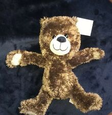 "NWT 10"" Circo Target Teddy Bear Dark Brown Corduroy Plush Animal Lovey Toy"