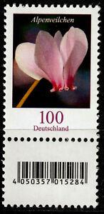 Bund 3365 S Zd 1 **, Rollenmarke mit Nr., 100 C. Freimarke Blumen
