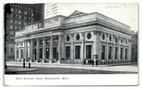 1909 First National Bank, Minneapolis, MN Postcard