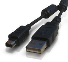 Cámara Digital Olympus SP-620UZ/SP-720UZ/SP-800U Cable USB/Cargador De Batería