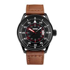 50m Waterproof Watch Quartz Analog Leather Band New Unisex Wrist Watches