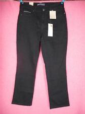 New LEVIS 505 10S/30 Black Denim Jeans 30 x 29 Midrise Straight Stretch Reg L24