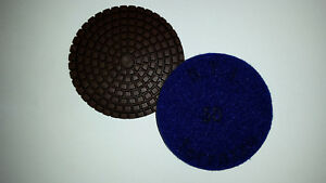 "STI Terrazzo M Pads - 50 Grit - 3"" - Terrazzo and Concrete Polishing Pads"